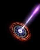 Active galactic nucleus,artwork
