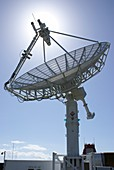 Satellite communications antenna