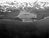 Lituya Bay after 1958 tsunami