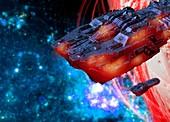 Spaceship,artwork