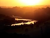 Dawn over the River Dart