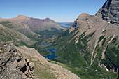 U-shaped glacial valley,paternoster lake