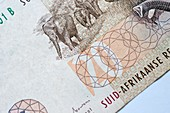 South African banknote