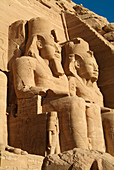 Colossal statues of Ramses II,Egypt