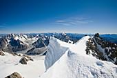 Summit of Mont Blanc Du Tacul