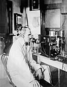 Lee De Forest,US inventor