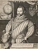 Sir Francis Drake,English admiral