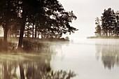 Daybreak at Lake Langsjon,Sweden