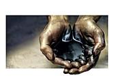 Fuel poverty,conceptual image