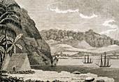 Cook in Hawaii,February 1779