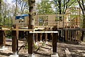 Treehouse Study Centre being constructed