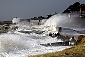 Coastal storm waves