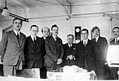 Seventh Solvay Conference physicists