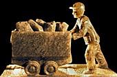 Salt sculpture,Wieliczka Salt Mine
