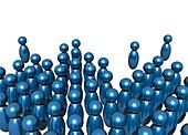 Social networking,conceptual image