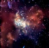Sagittarius A,X-ray image