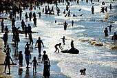 Crowded beach,Blankenberge,Belgium