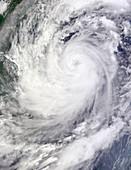 Typhoon Ketsana,satellite image