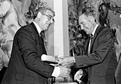 Giacconi's 1987 Wolf Prize in Physics