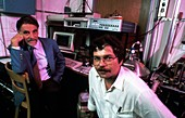 Muller and Bednorz,1987 Nobel physicists