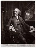 Benjamin Franklin,American scientist