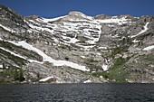 Glacial cirque eroded