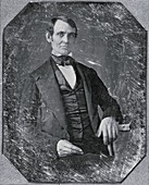 Abraham Lincoln,19th Century photograph
