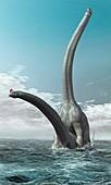 Sauroposeidon dinosaurs mating