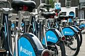 Public bike scheme,London