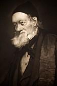 1889 Sir Richard Owen portrait old age cu