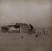 Dust Bowl storm,1936