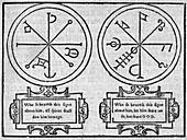 Mystical pendants,16th century