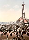 Blackpool,UK,historical image