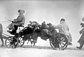 Chinese plague,historical image