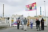 London to Geneva anti-nuclear march