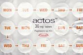 Pioglitazone diabetes tablets