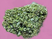 Pyromorphite crystals