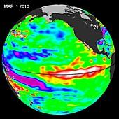 El Nino,March 2010
