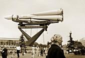 Vostok rocket,Moscow,Russia