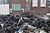Dumped trade waste