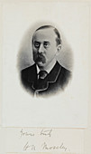 Henry Moseley,British naturalist