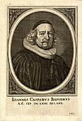 Johann Caspar Bauhin,Swiss physician