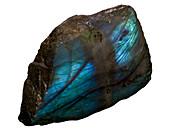 Labradorite rock crystals