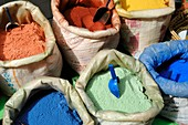 Coloured pigments,Morocco