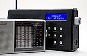 Portable analogue and digital radios