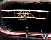 Wright Flyer replica,wind tunnel tests