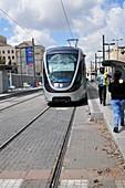 Jerusalem mass transport Light Train