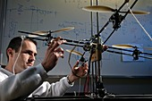 Unmanned aerial vehicle development