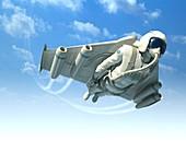 Jetman,artwork