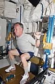 NASA astronaut Steve Lindsey,STS-133